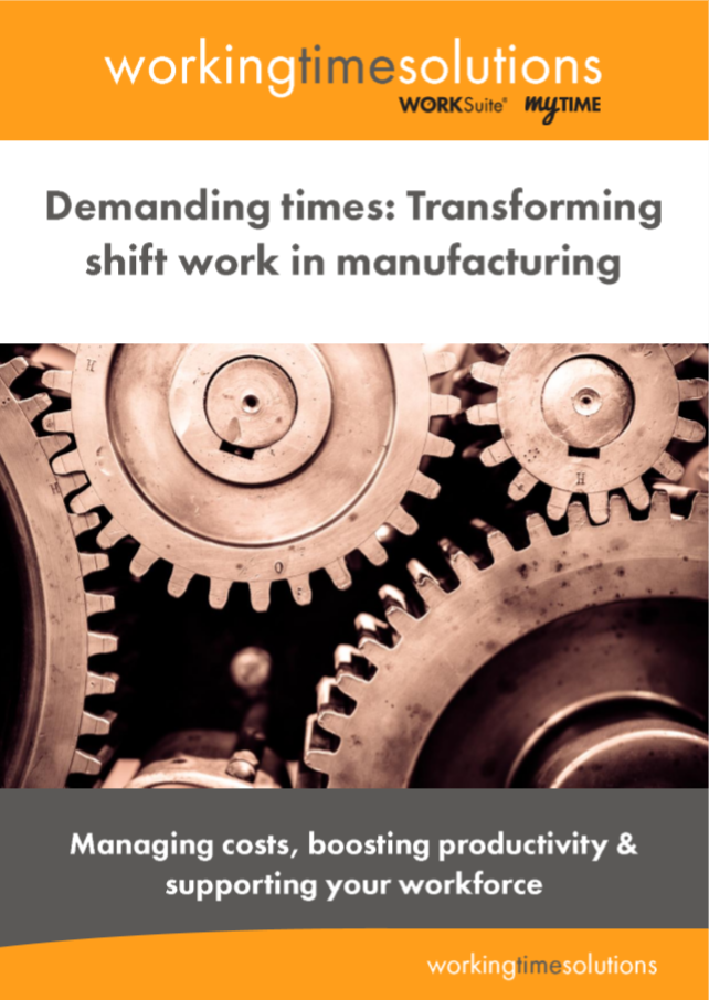 'Transforming shift work in manufacturing' e-Book